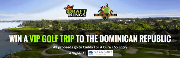 DraftKings Caddy for a Cure