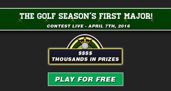 Free Masters Fantasy Golf Contest