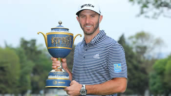 Dustin Johnson Defending World Golf Champion - Mexico Championship