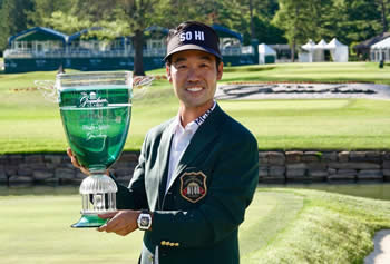 Kevin Na A Military Tribute at the Greenbrier Champion