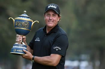 Phil Mickelson Defending World Golf Champion - Mexico Championship