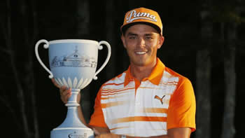 Rickie Fowler Defending Champion