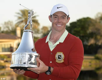 Rory McIlroy Defending Champion