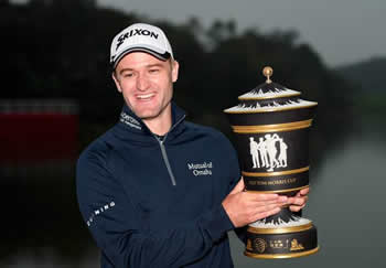 Russell Knox Defending World Golf Champion - HSBC